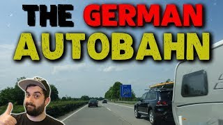 DRIVING ON THE GERMAN AUTOBAHN 🚘 Road signs & traffic rules explained! | VlogDave