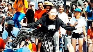 Locking Hip Hop -  Natsuna from Japan vs Tre, Vancouver Street Dance Battle
