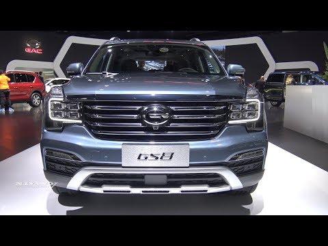 2019 GAC GS8 - Exterior And Interior Walkaround - 2018 Detroit Auto Show