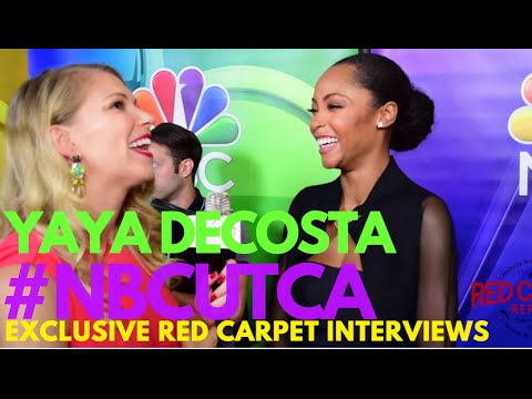 with Yaya Dacosta ChicagoMed at NBCUniversal's Summer Press Tour NBCUTCA TCA16