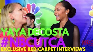 Interview with Yaya Dacosta #ChicagoMed at NBCUniversal's Summer Press Tour #NBCUTCA #TCA16