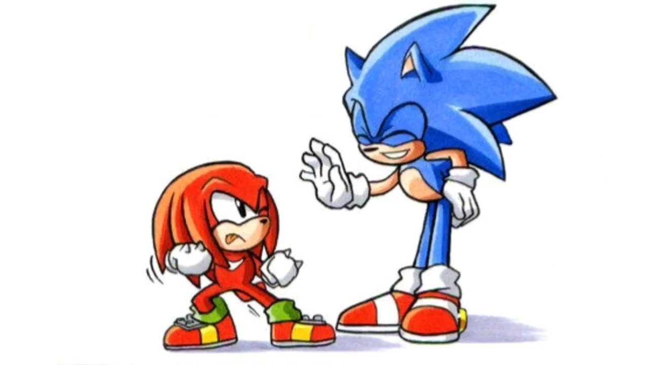 Sonic Meets Knuckles