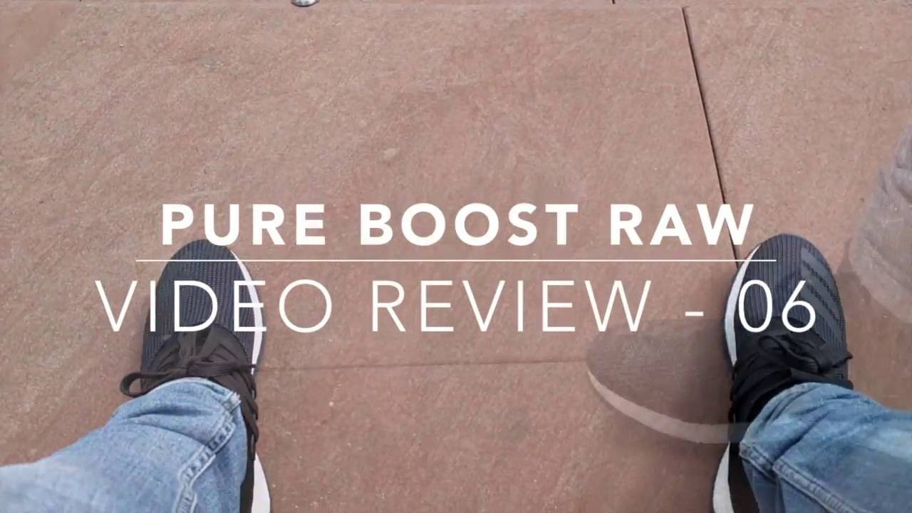 639b6bc270704 pure boost raw review - YouTube