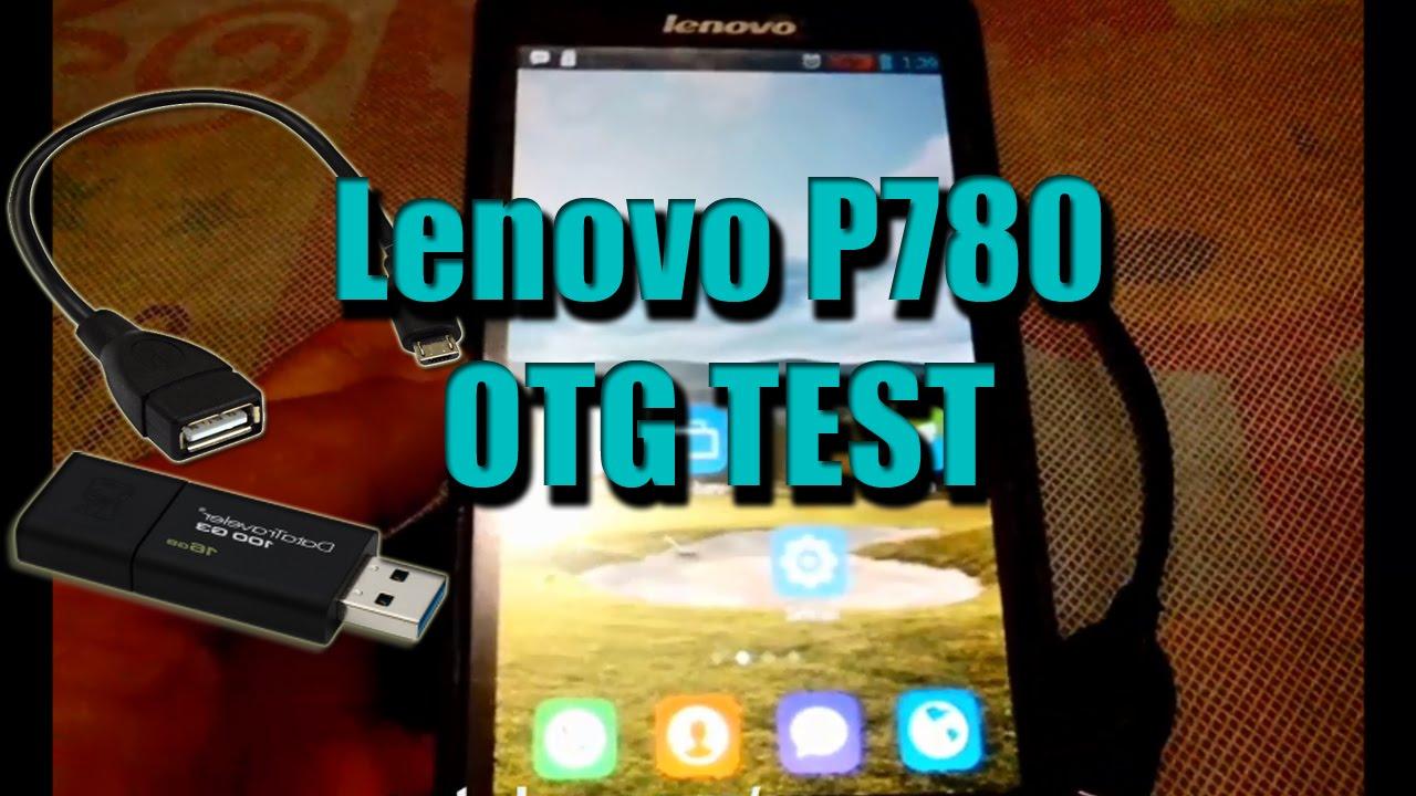 Lenovo p780 otg test youtube lenovo p780 otg test reheart Gallery