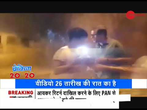 Roads filled with water as pipeline bursts in Mumbai's Borivali area