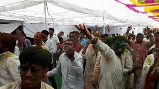 Gurudev nikhil. Holi sebir jodhpur gurudham 2016. ( dance of butwal nepal group)