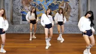 Download lagu Chorus dance (mirrored) Purple by Woo!Ah! (zoom ver.) 우아