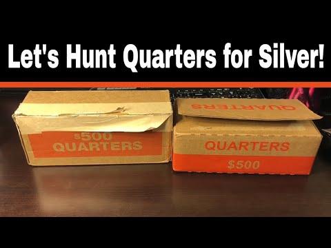 I Do Coin Roll Hunt Quarters (ish)
