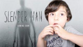 SLENDER MAN Official Trailer TODDLER REACTION!!!