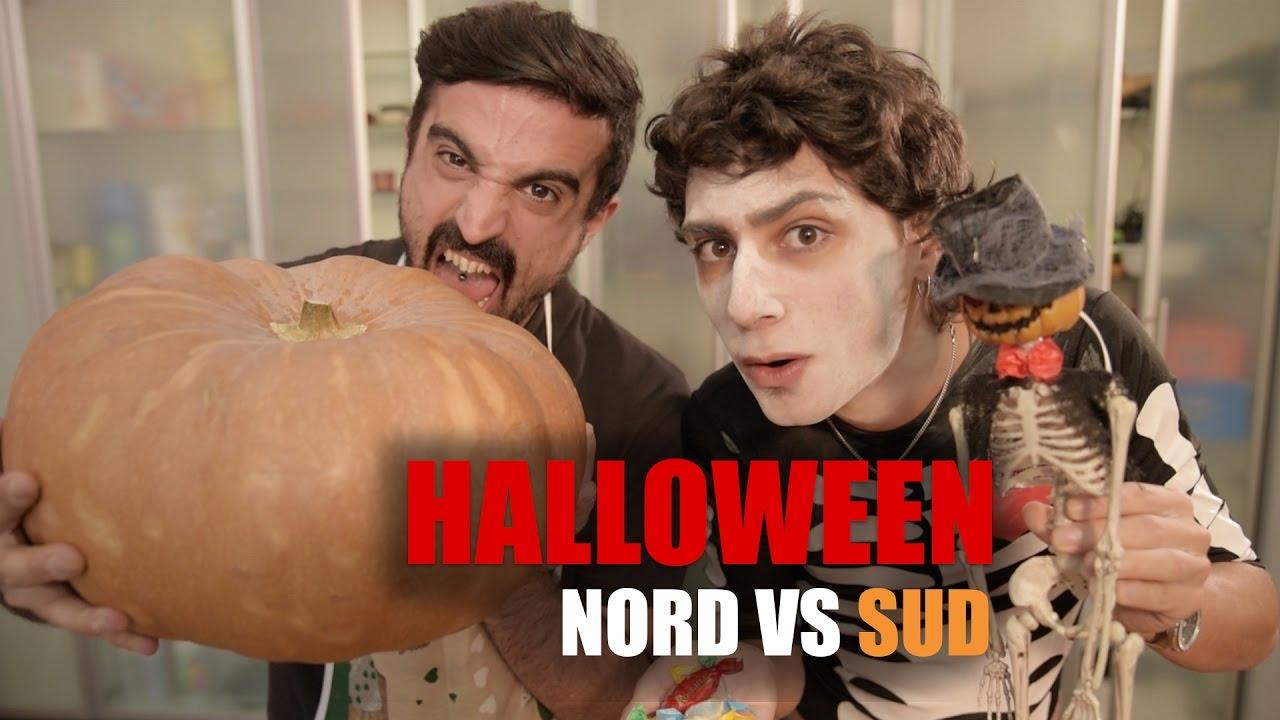 HALLOWEEN  NORD vs SUD  YouTube