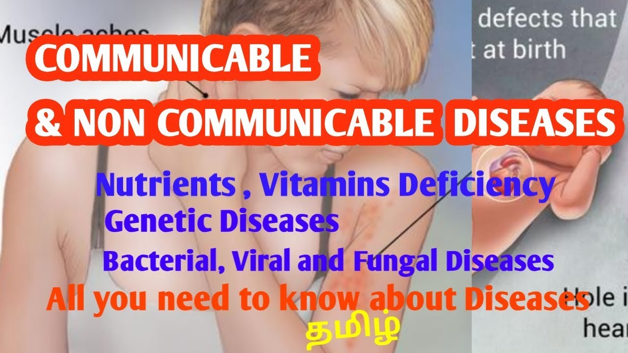 Communicable and Non Communicable Diseases TNPSC | SHANKAR GK