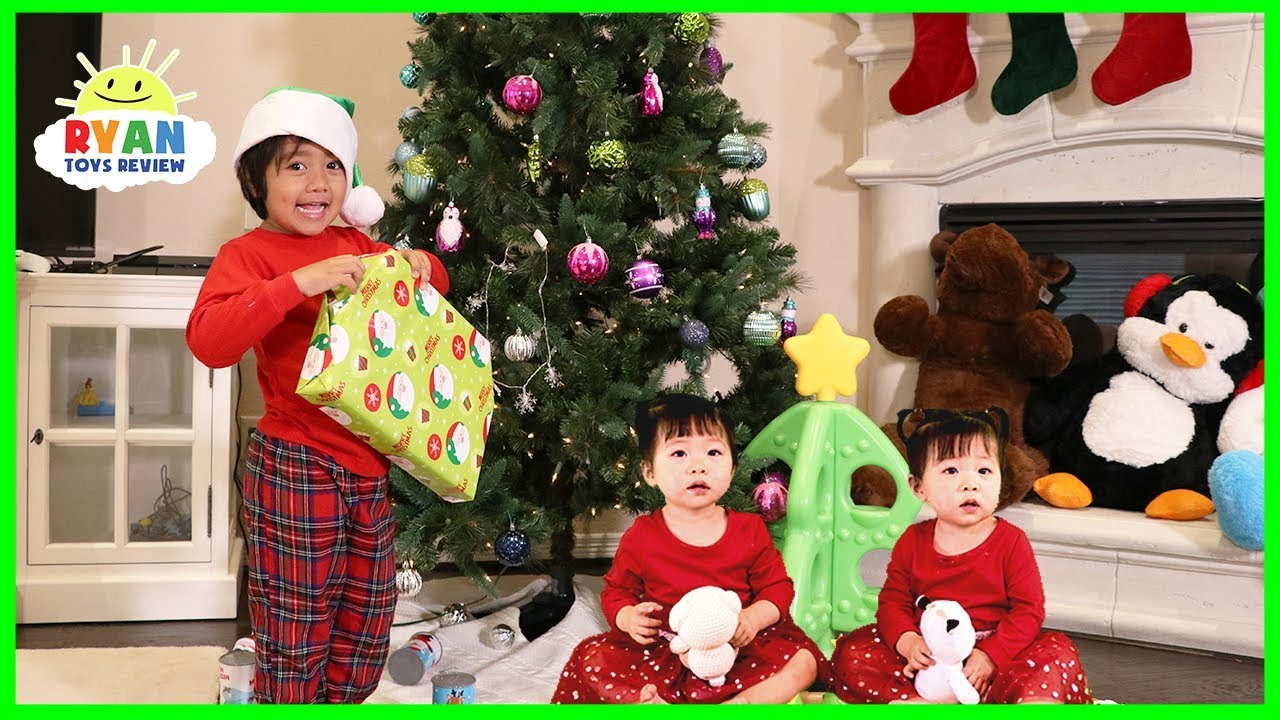Jingle Bells Kids Christmas Songs with Ryan ToysReview - YouTube