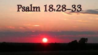 Psalm 18: 28-33