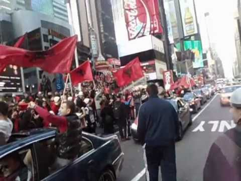 "Albanian Independence Day ! ""BURNING"" NYC ! PROUD TO BE ALBANIAN"