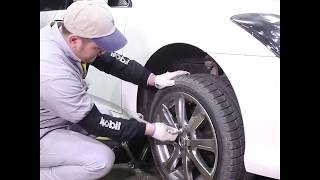 Replace flatted tire 1min