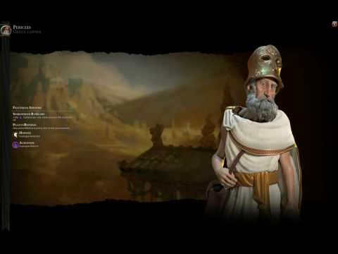 Civ 6 Greek (Pericles) Theme music -Ancient era