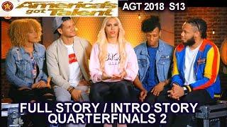 Da Republik Full INTRO STORY QUARTERFINALS 2 America's Got Talent 2018 AGT