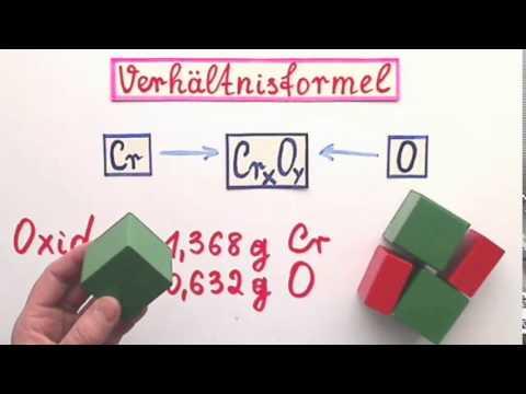 Verhältnisformel berechnen ein Beispiel aus Chemie - YouTube