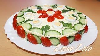 """Салат """"Курочка Ряба """" самый нежный и вкусный."""