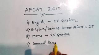 AFCAT Exam 2017