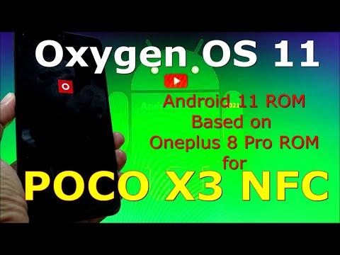 Oxygen OS 11 for Poco X3 NFC ( Surya ) - Based on Oneplus 8 Pro