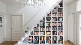 Creative Book Storage For Small Spaces
