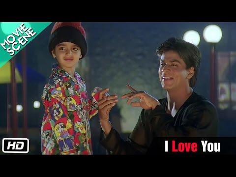 I Love You - Movie Scene - Kuch Kuch Hota Hai - Shahrukh Khan, Kajol