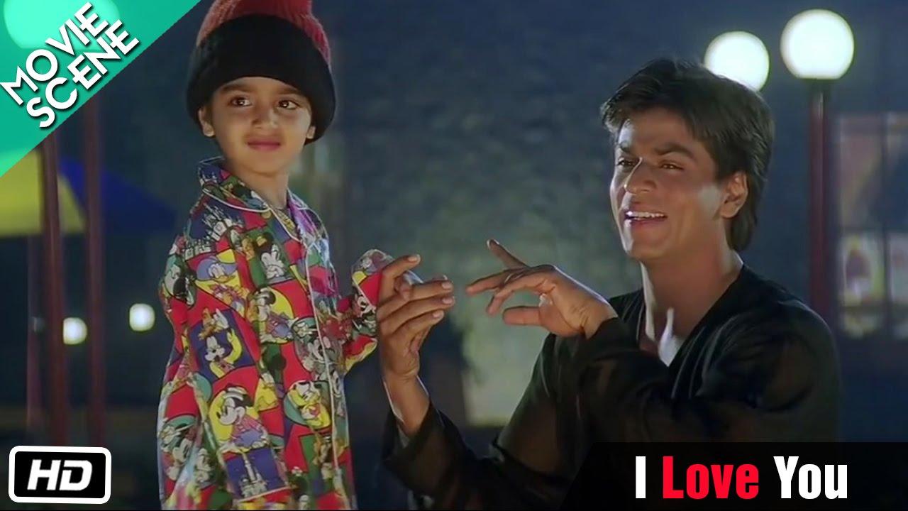 I Love You Movie Scene Kuch Kuch Hota Hai Shahrukh Khan Kajol