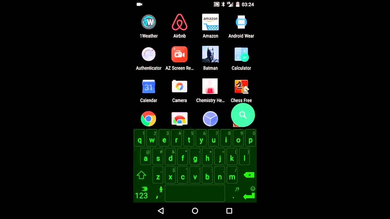 Flow home launcher android