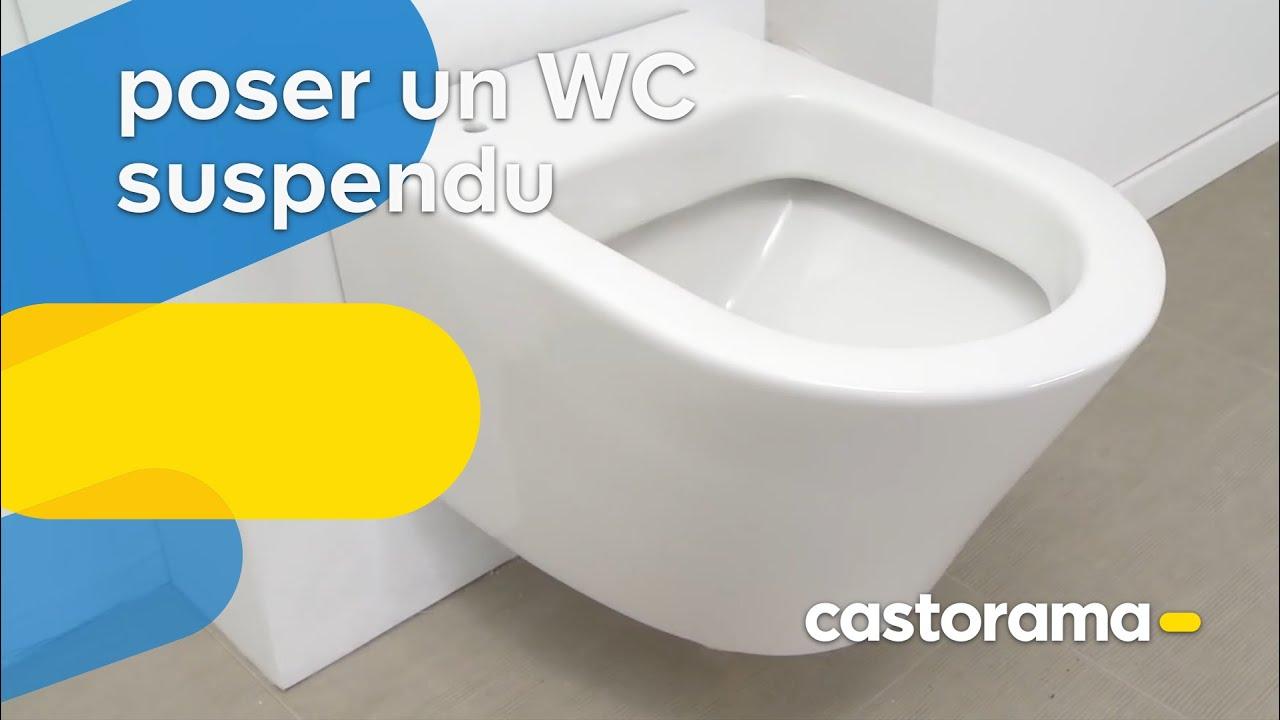 Poser Un Wc Suspendu Castorama Youtube
