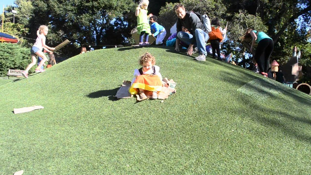 Children's Fairyland Oakland - La colline-toboggan - YouTube