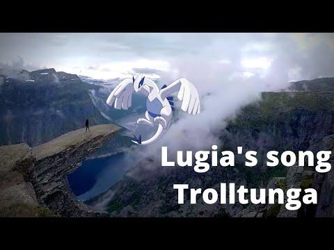 Lugia's Theme Song -Trolltunga - Flute cover - Harmony Disturbed - Pokémon 2000 - by Daniela Mars
