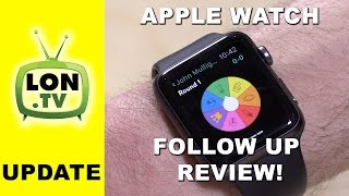 A Month With the Apple Watch - Follow Up Review