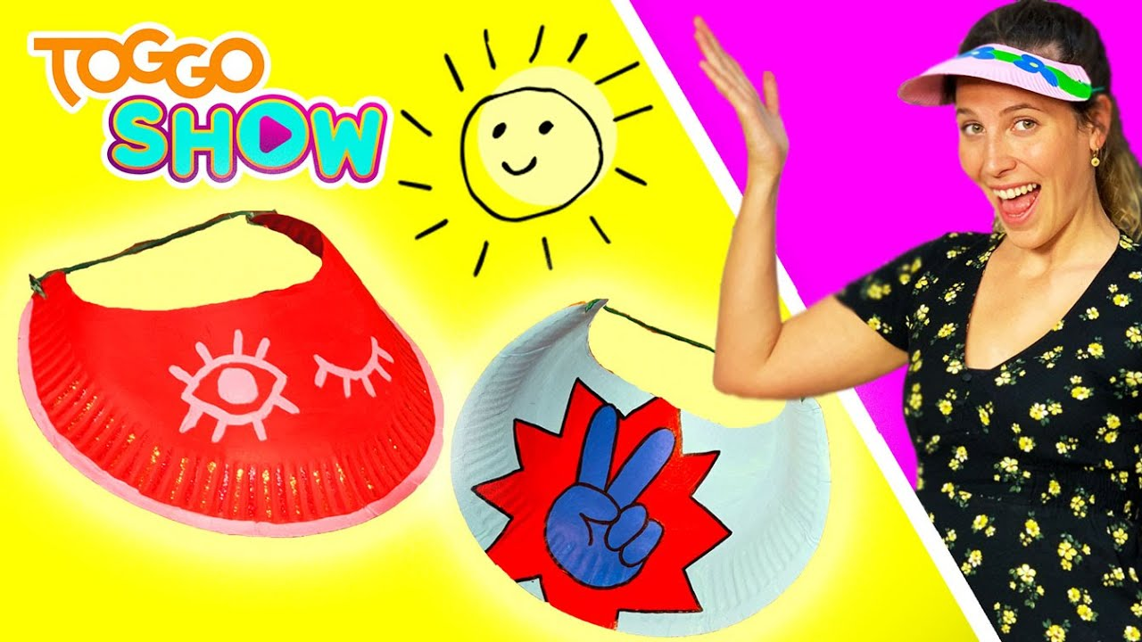Der perfekte Sonnenschutz | Sonnenkappe | Selbstgemacht mit Lisa | TOGGO Show