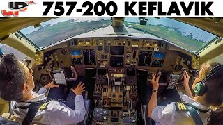Piloting BOEING 757 out of ICELAND