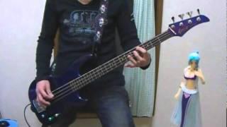 """相川七瀬さんの""""夢見る少女じゃいられない""""をベースで弾いてみました♪ s..."""