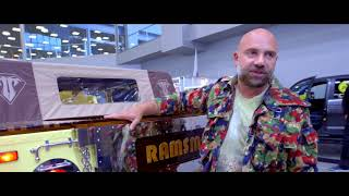Overview of Timofey Bazhenov is about Hummer H1 Ramsmobile company in Moscow Off-Road Show!