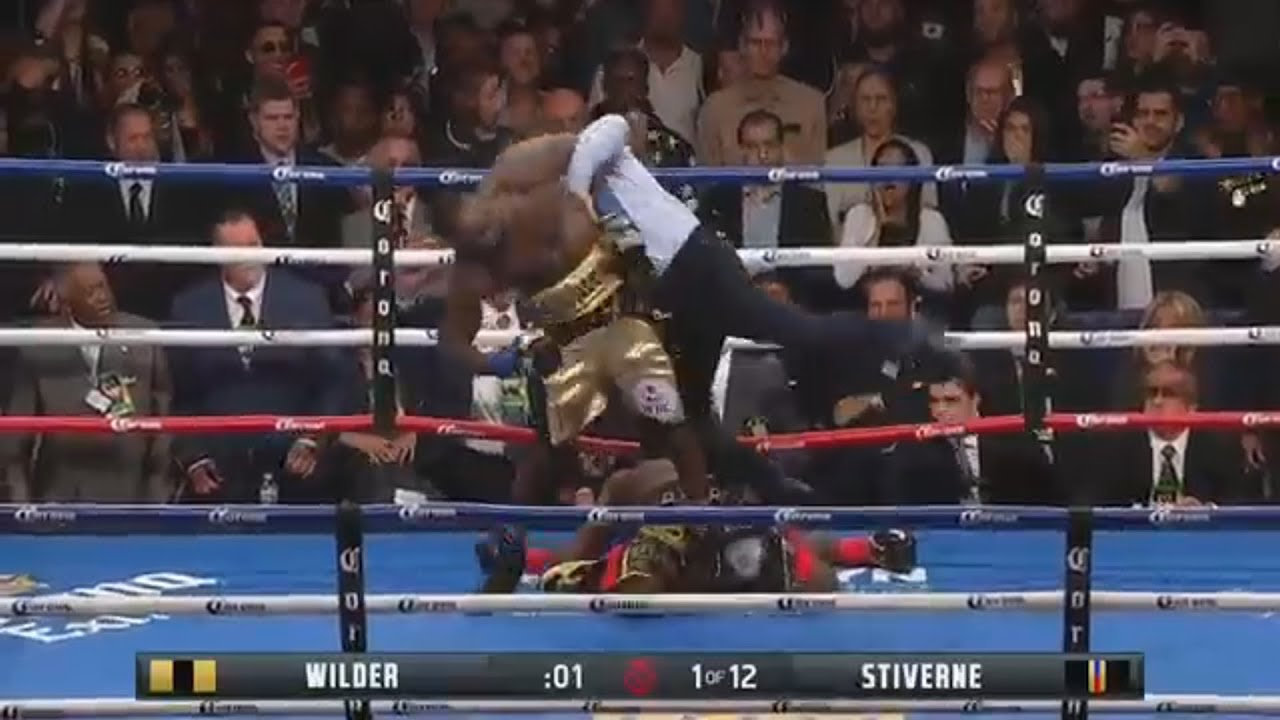 Deontay Wilder Knocks Out Bermane Stiverne in the First Round