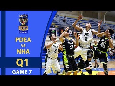 UNTV Cup 6: PDEA Drug Busters vs. NHA Builders - Q1