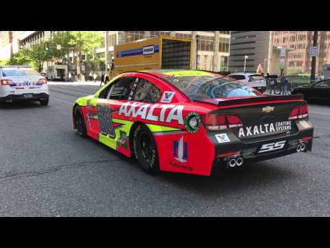 NASCAR race cars to rumble through streets today in Center City Philadelphia