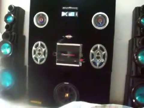 Car audio en casa youtube for Stereo casa