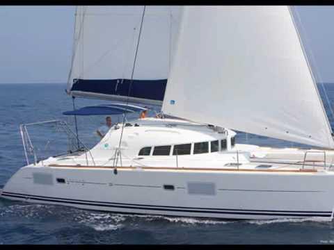 Charter catamaran Lagoon 410 in Greece.wmv