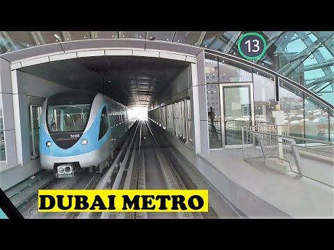 Dubai Metro Green Line Al Qusais To Airport Freezone