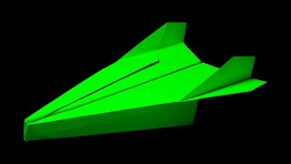 How To Make A Paper Airplane That Flies - Paper Airplanes - Best Origami Plane | Spaniard