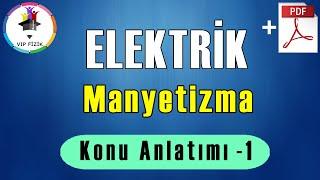 Manyetizma Konu Anlatımı -1  PDF  TYT Fizik