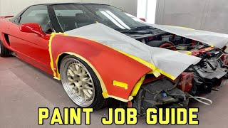 The STEP BY STEP Guide To Painting Your Car!