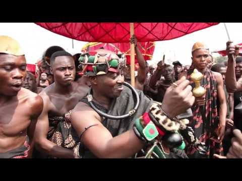rich cultural display my various chiefs and people all over ghana
