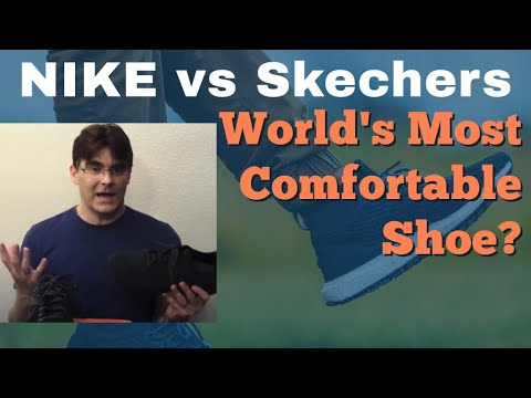 nike-vs-skechers---the-world's-most-comfortable-shoe?-review-and-compare.-air-gowalk
