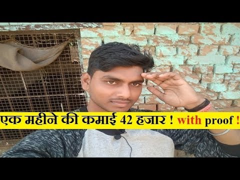 एक महीने की कमाई 42 हजार ! with full proof !  abhishek singh poultry india group