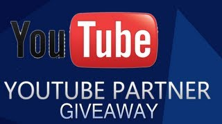 Youtube Partnership Giveaway - Channelwidget